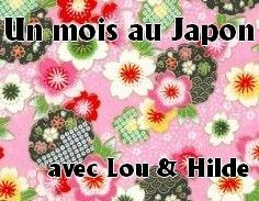un mois au Japon avec Lou et Hilde logo challenge